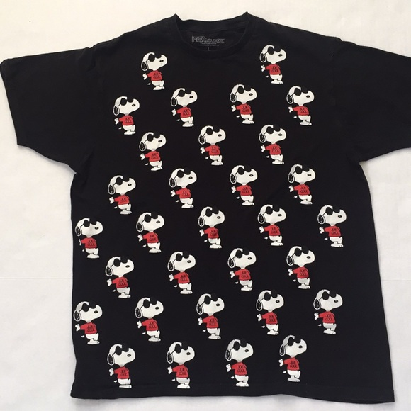 a3d1a13f6b1a Peanuts Shirts | Snoopy Joe Cool Gang Black T Shirt | Poshmark